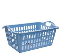 Koš na prádlo 57x40x24cm modrý
