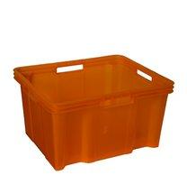 Box 26l43x35x23cm oranžový