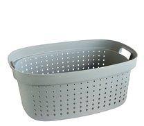 Koš na prádlo 59x40x25cm šedý