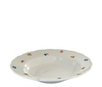 Ofelie talíř hluboký 23cm/dekor házenka
