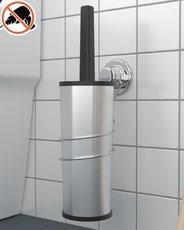 WC set chrom 37x16x11cm