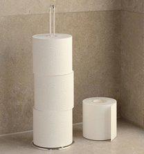 Držák toal papíru 49x15x15cm chrom
