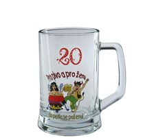 PUB pivní 0,5l - VÝROČKA 20
