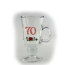 VENEZIA kavák 24cl výročka 70 červená