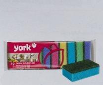 Houbička na nádobí YORK 10ks 8x5x2,5cm