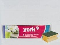 Houbička na nádobí s úchopem YORK 5ks 8x6x4,3cm