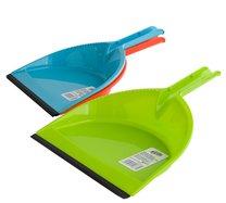 Lopatka s gumou AZUR modrá/oranžová/zelená