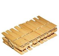 Kolíčky na prádlo dřevěné YORK 20ks 7,5cm